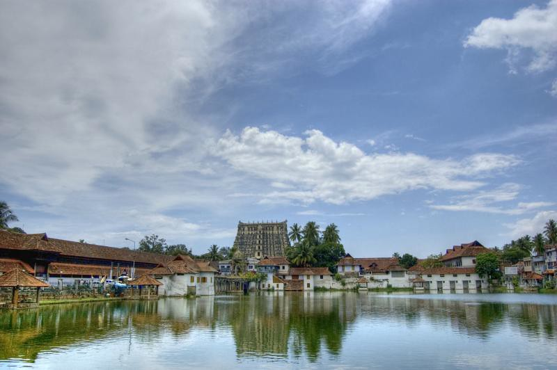 Padmanabhaswamy Temple, Thiruvananthapuram, Kerala, India