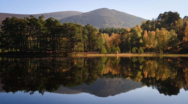 Autumn Colours at Loch an Eilein II