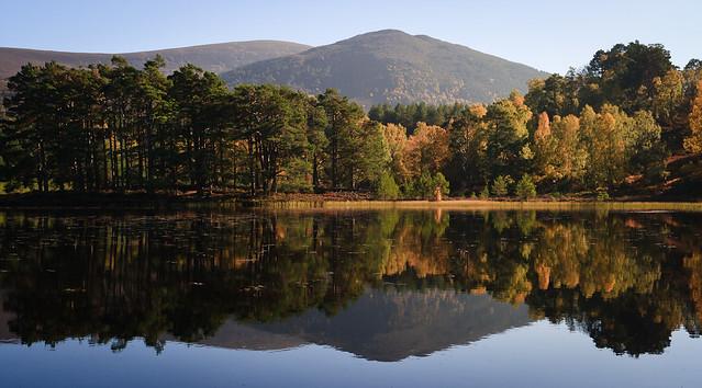 Autumn Colours at Loch an Eilein II