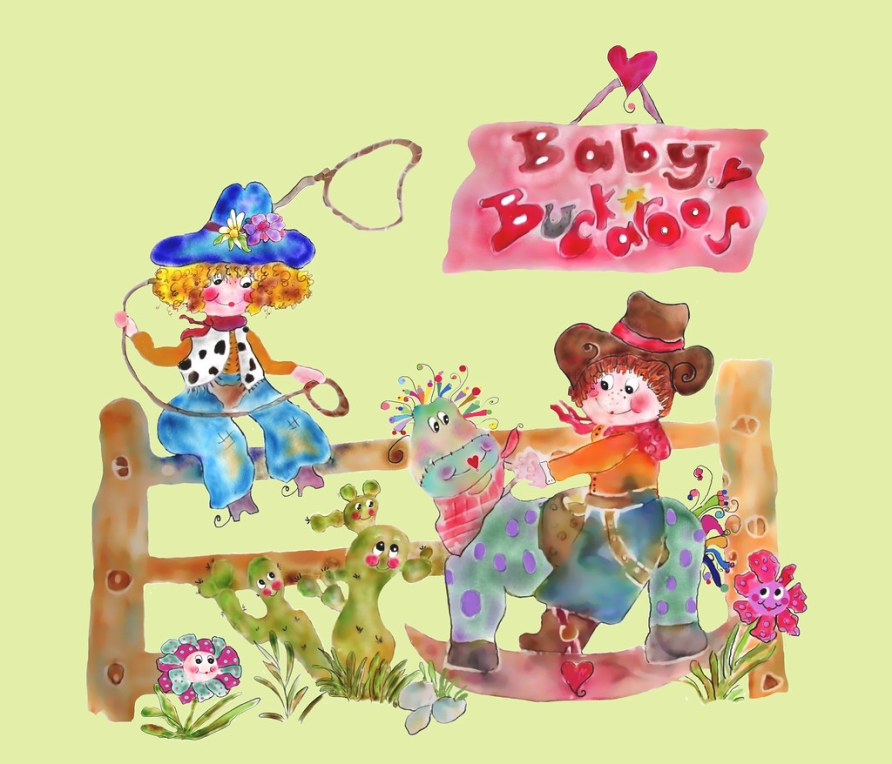 Baby Buckaroos  Riding the Range by Rosanna Hope for Babybonbons