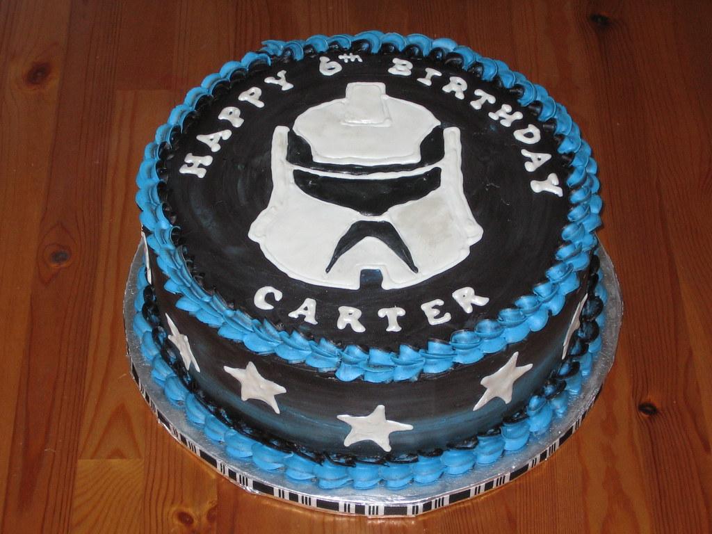Clone Wars Star Wars Birthday Cake Clone Wars Star War Flickr