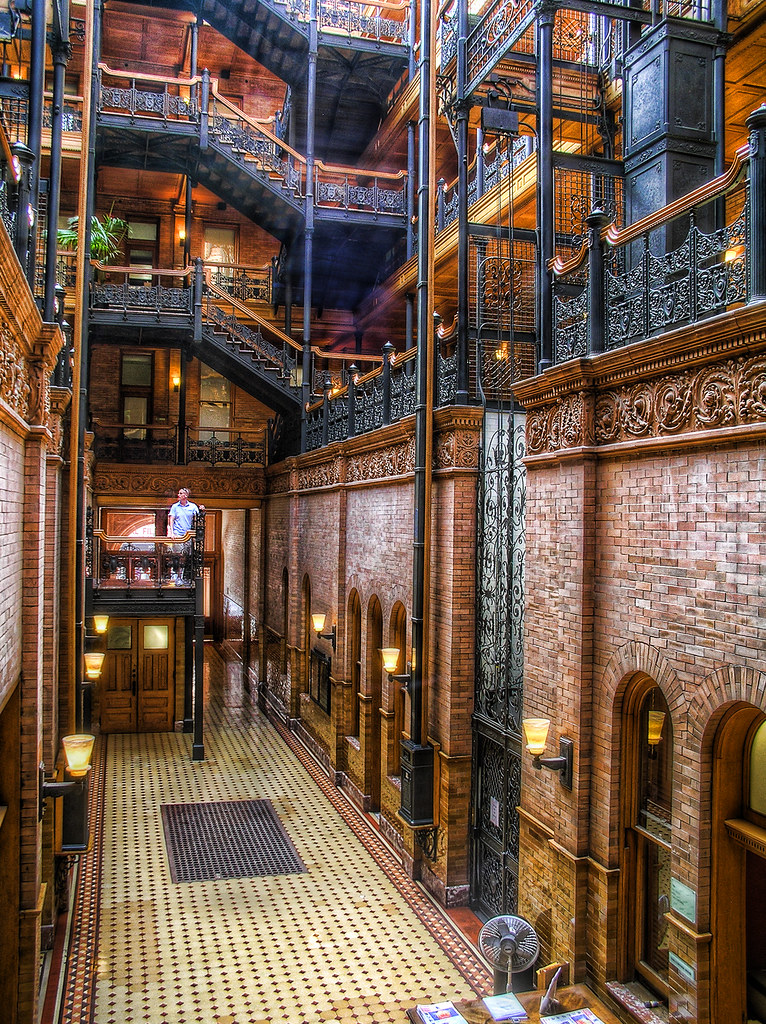The Bradbury Building Location For Quot Blade Runner Quot And