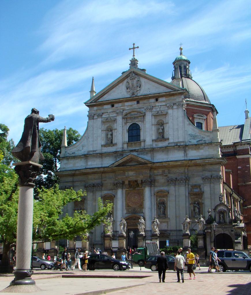 Polonia Iglesia de San Pedro y San Pablo Cracovia  01