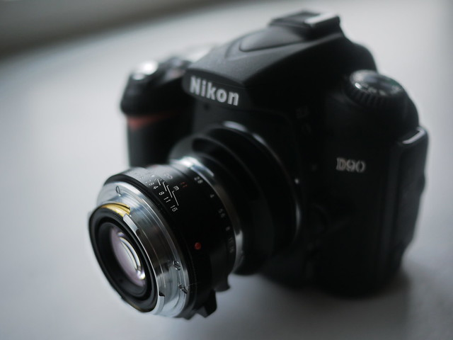 Nokton on D90 before it was sold