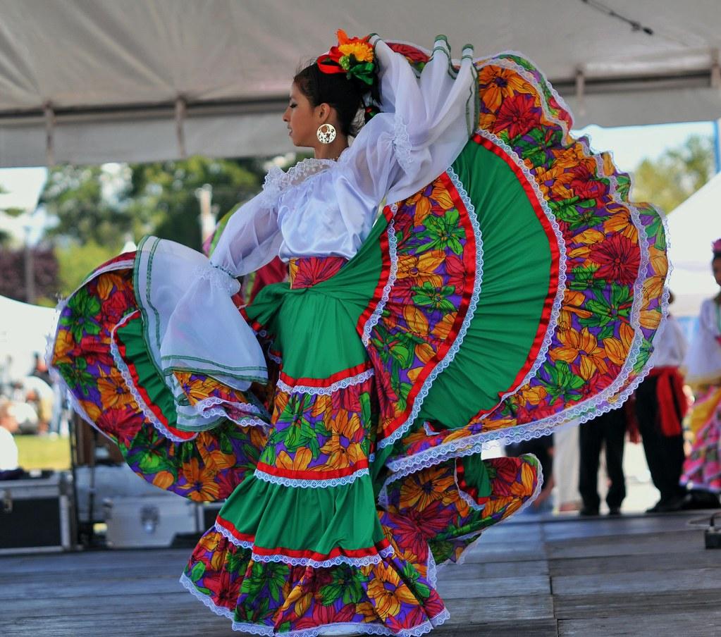 Mexican Folk Dance La Bamba Zapateado Youtube