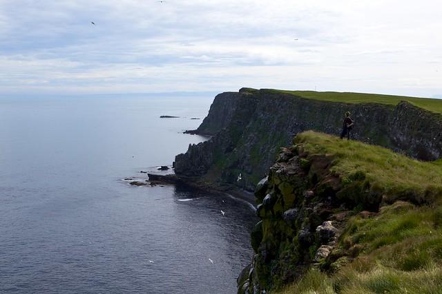 Rock Cliffs in Grimsey