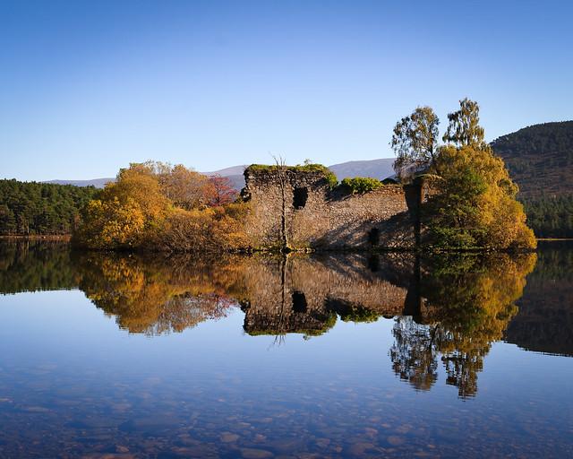 Little island at Loch an Eilein