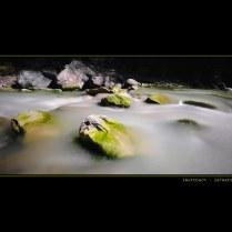 flowing zmuttbach @ zermatt switzerland