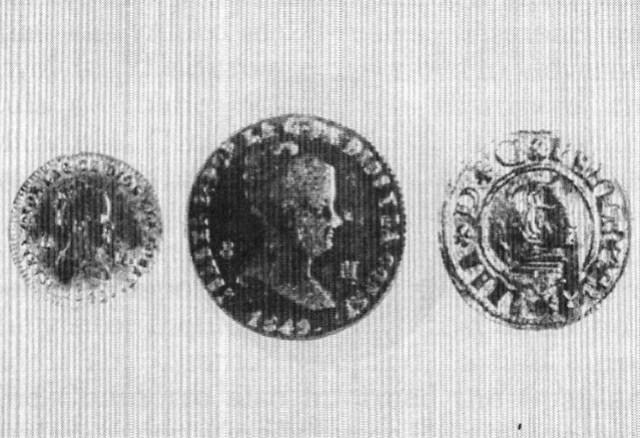 Copper Maravedis Coins