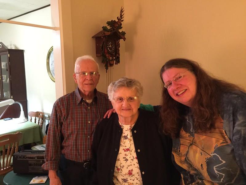 John, Catherine and me