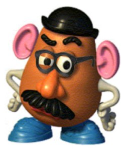 mr potato head with glasses atc_angie flickr