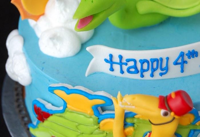 Dinosaur Train Birthday Cake Charmchang Flickr