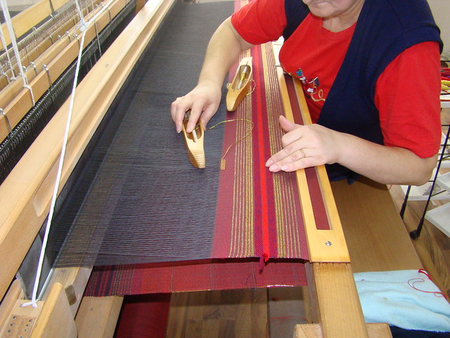 Handweaving Inlay Design