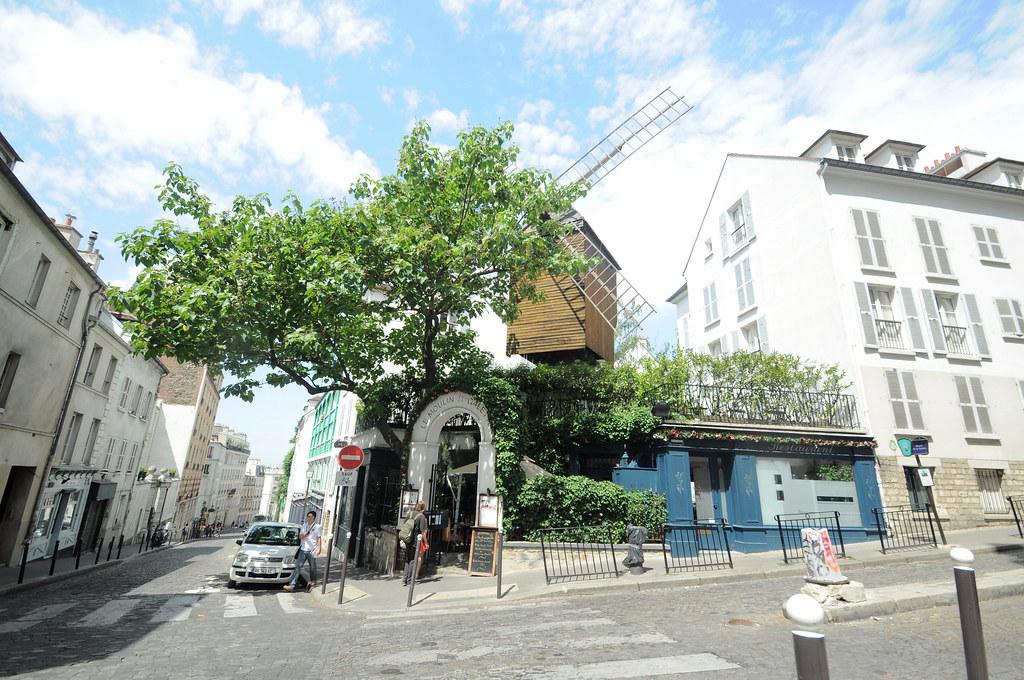 Le Moulin de la Galette 煎餅磨坊