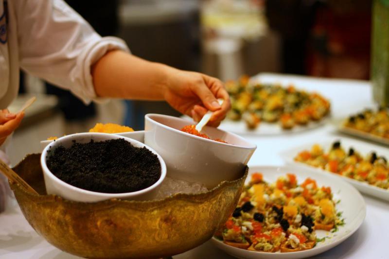 Caviar Two Ways