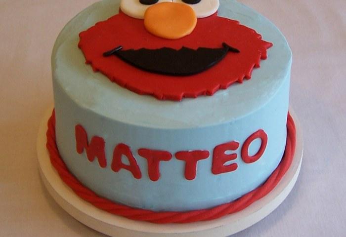 Elmo Smash Cake Buttercream Beth Flickr