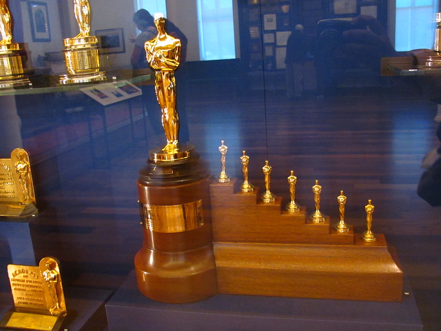 Academy Award for Snow White and the Seven Dwarfs on display at the Walt Disney Family Museum