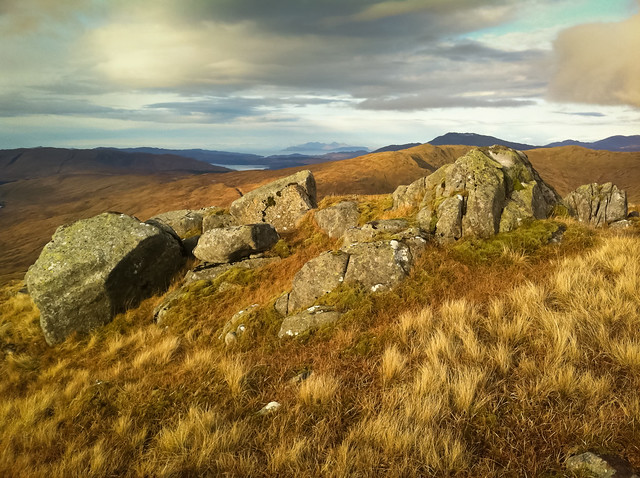 View Of Rum From Beinn Na Cille, Kingairloch