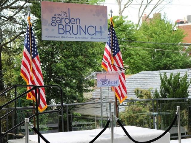 2017 Garden Brunch- White House Correspondents Dinner Weekend Garden Brunch