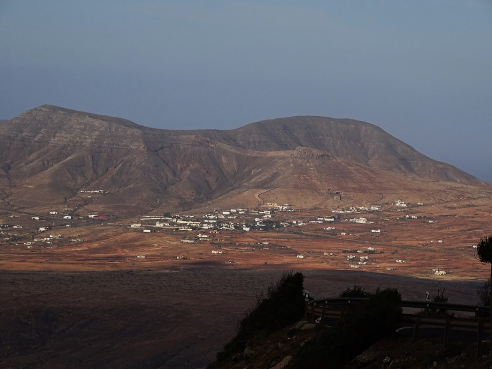 Antigua desde el Mirador de los Reyes Guise y Ayose Isla de Fuerteventura 150