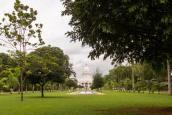 als eerste is het Viharamahadevi park aan de beurt