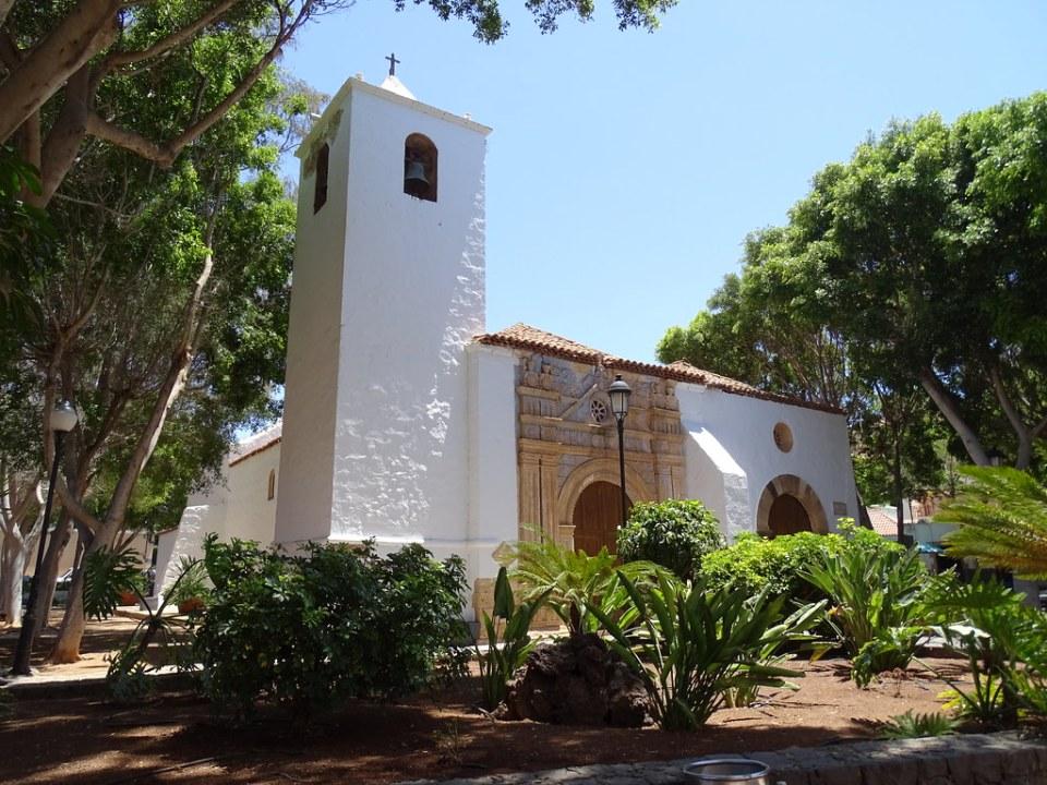 Pajara exterior de la Iglesia Nuestra Señora de la Regla Isla de Fuerteventura 324