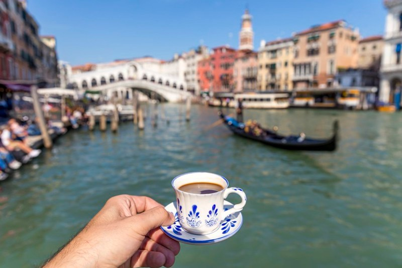 Coffee in Venice