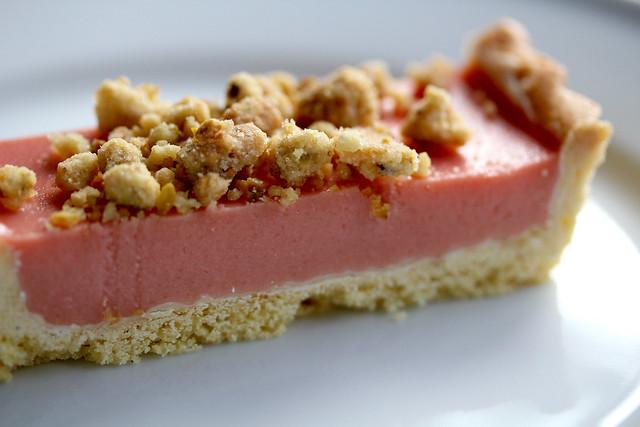 Rhubarb-Raspberry Pistachio Tart - 41