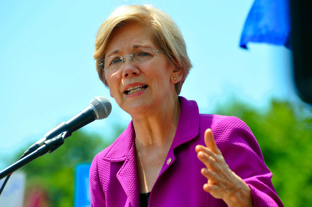 Rally at US Sen 0195 Senator Elizabeth Warren