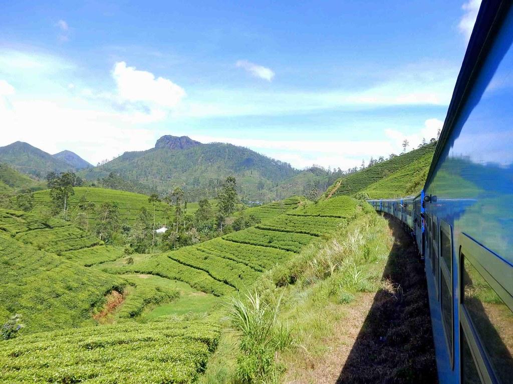 Sri Lanka highlands by train | from Kandy to Ella