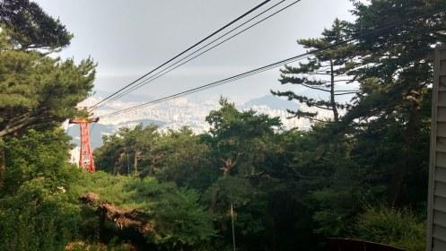 Walking from Beomeosa Temple (범어사)  through Geumjeongsanseong Fortress (금정산성)