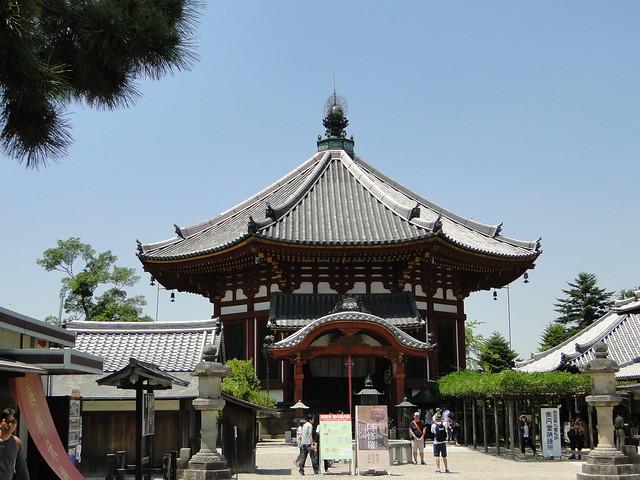 Octagonal Halls in Kofukuji Temple Nara