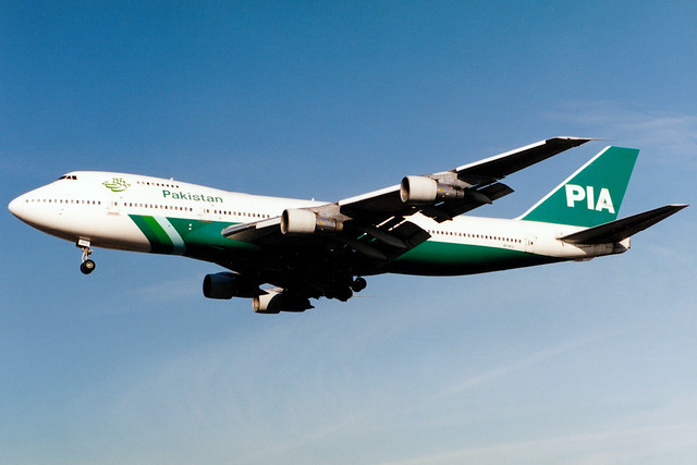 Pakistan International Airlines | Boeing 747-200 | AP-AYV | London Heathrow