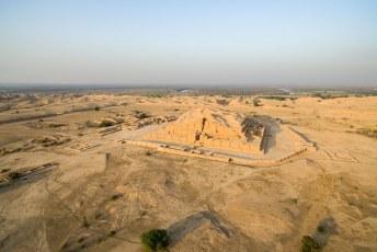 In Chogha Zanbil, niet ver van Shush, staat deze Ziggurat.