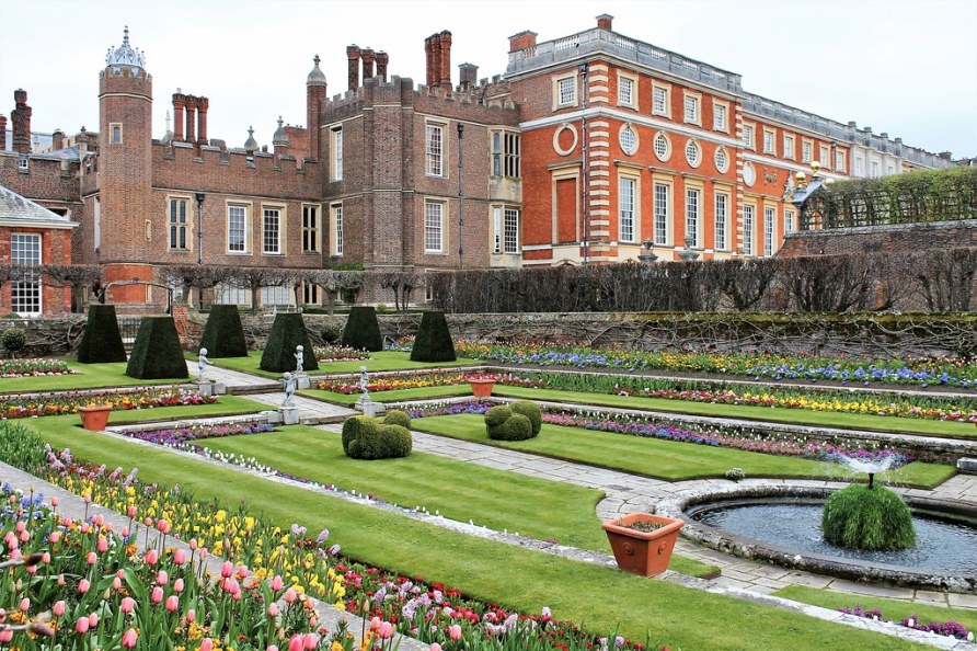 One of the Gardens at Hampton Court