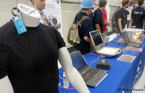 Au Salon du Bourget 2017, dans l'avion zéro G du CNES, les expériences du CADMOS