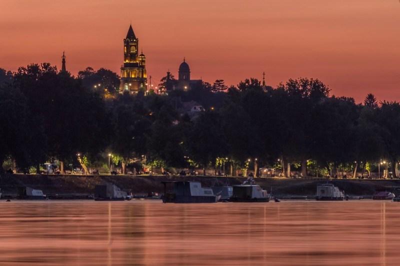 Summer evening in Zemun