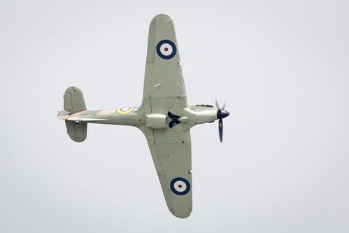 Battle of Britain Memorial Flight at the Fairford International Air Tattoo 2017
