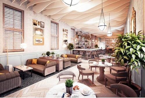 Beaumont Estate new flagship bar 1705