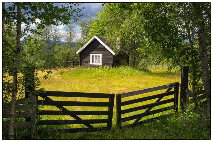 Sommer i fjellbygda   Norge / Norway - Oppland - Nordre ...