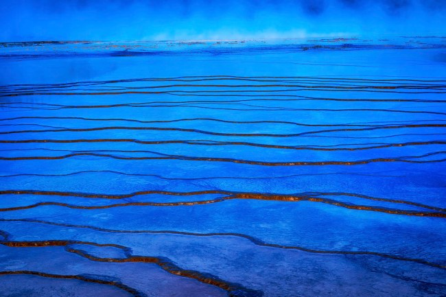 Midway Geyser Basin Pool Feature (Yellowstone NP)