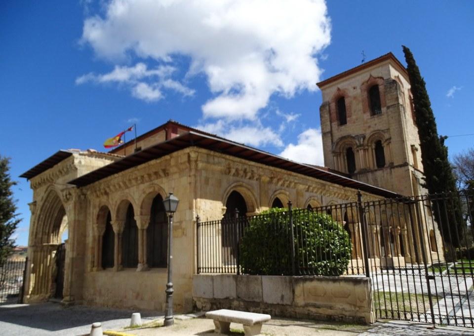 Segovia Iglesia de San Juan de los Caballeros Actual Museo de Zuloaga 02