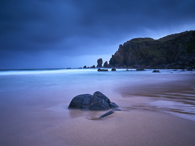 Moody evening at Dalmore, Isle of Lewis