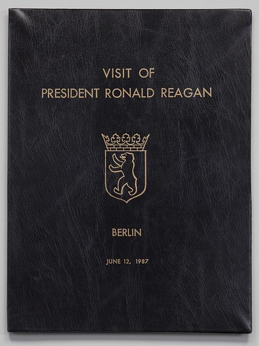 Reagan 1987 Berlin speech folder
