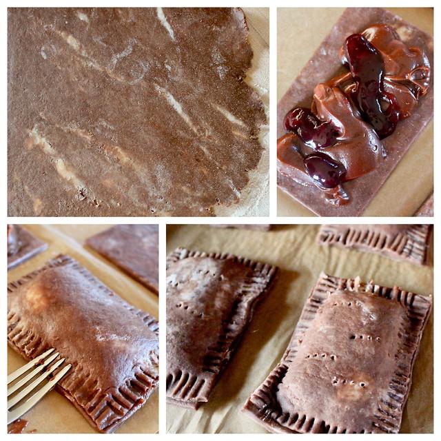Chocolate PB&J Pop Tarts - 35