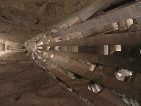 Barcelona Sagrada Familia inside tower