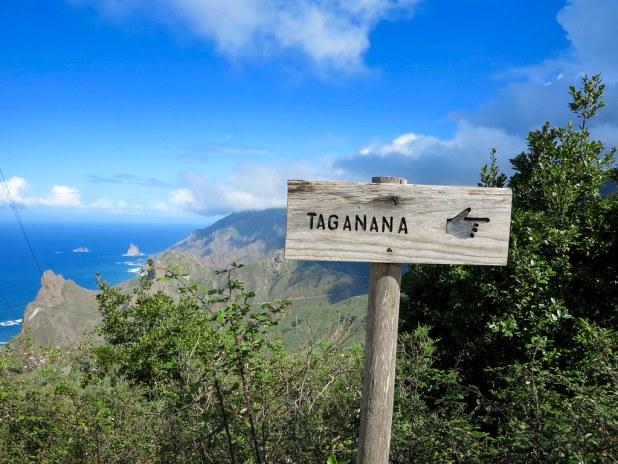 Camino a Taganana