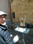 Howard Friedland painting workshop Spain