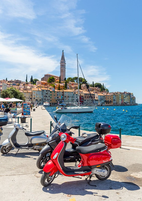 Lovely colors of Rovinj