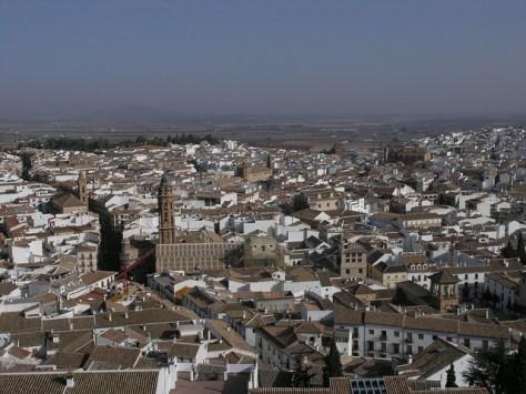 antequera cityscape
